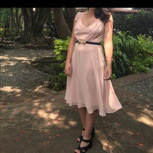 Pink-ish / cream ASOS dress